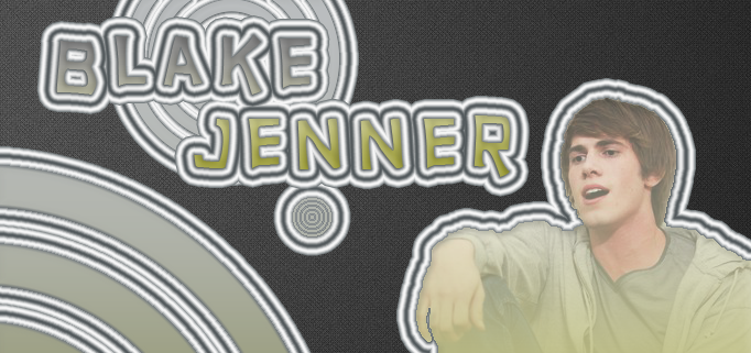 Blake Jenner Banner/Signature by Oyn
