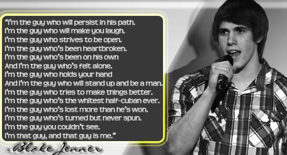 Blake Jenner's Poem by Oyn
