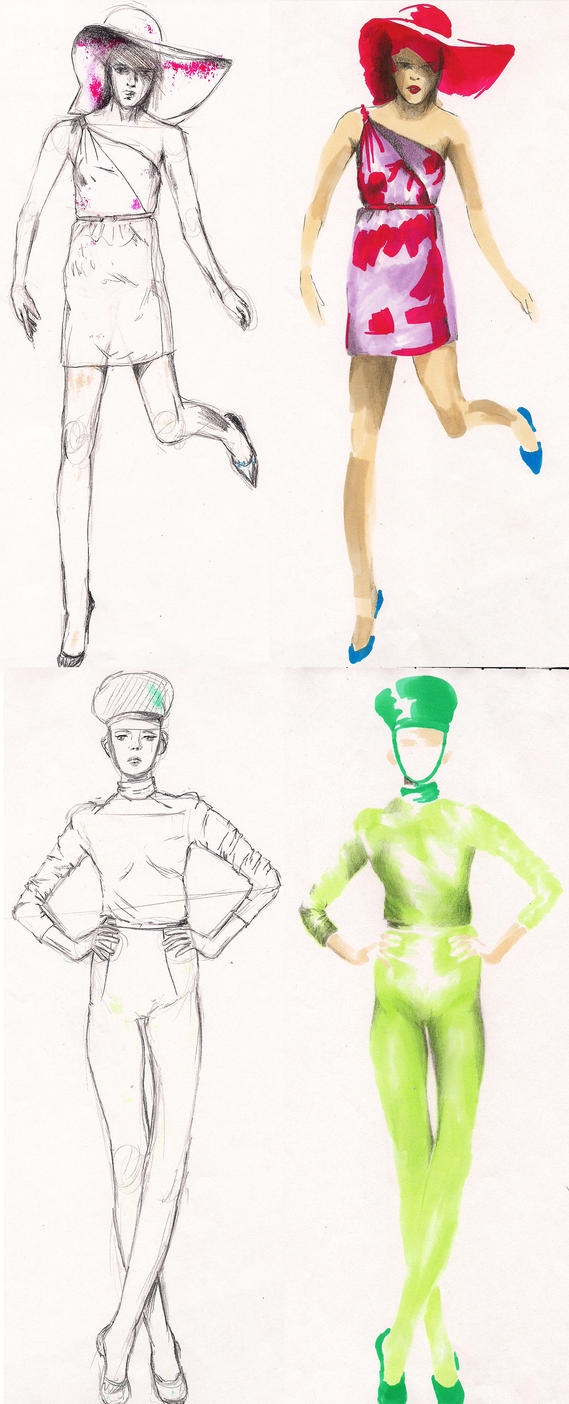 fashion figures_3 by Zvalosch