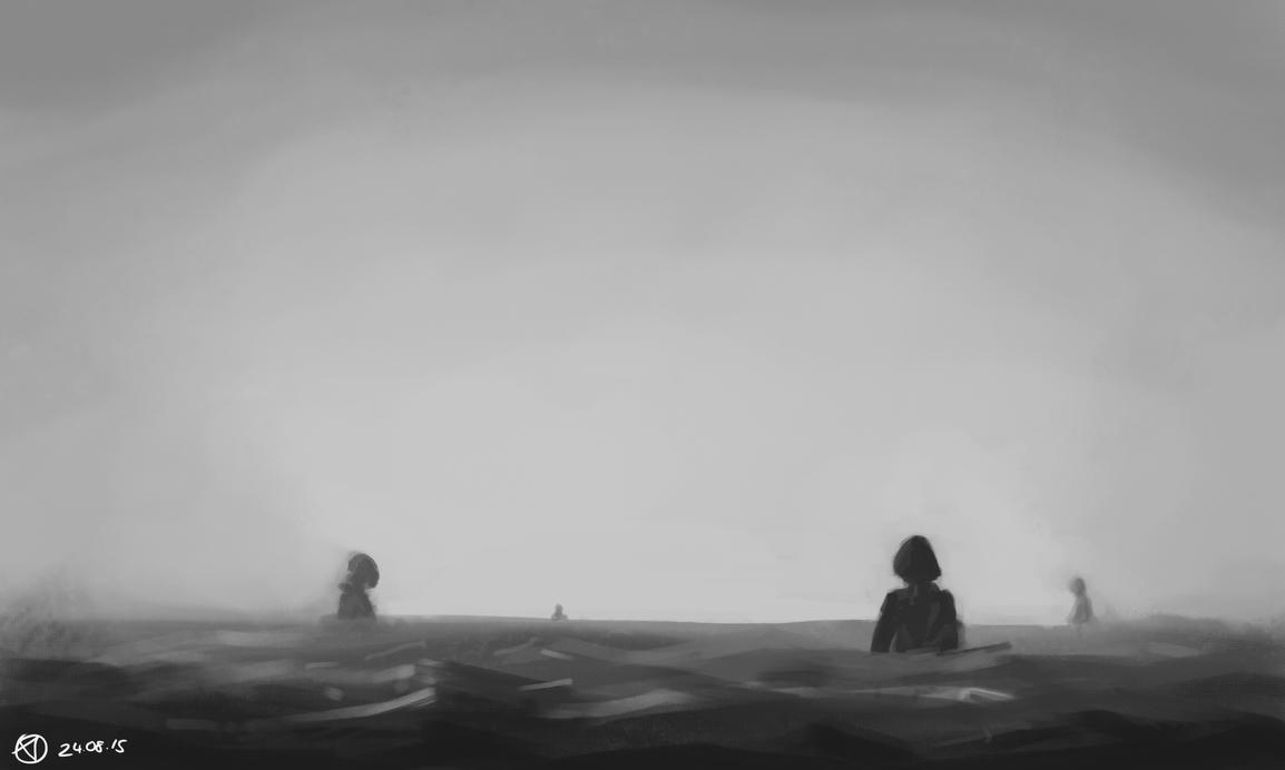 Swim by Nx3Fox