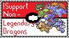Pokemon Dragons Stamp