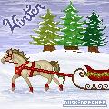 Winter Horse by Dusk-Dreamer