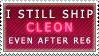 I still ship CLEON by Taraevyn