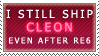 I still ship CLEON by N-o-c-t-i-s