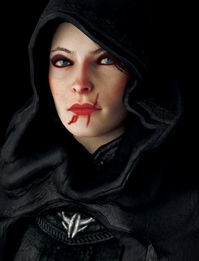 Mistral Portrait by Taraevyn