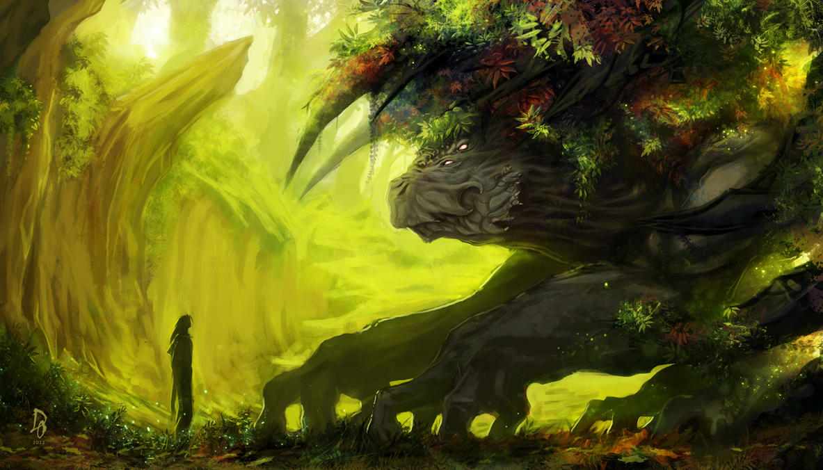 The Forest Giant by TheEchoDragon