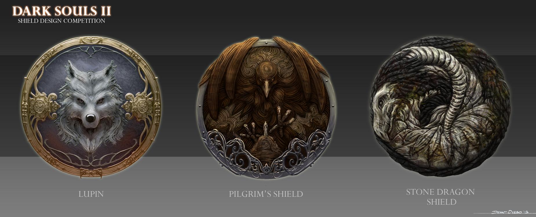 Shield Designs by TheEchoDragon