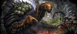 Snail-like Creature by DeanOyebo