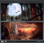 ILM Art Challenge - Round 1 - The Moment
