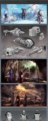 ILM Art Challenge - Final Round - The Job by DeanOyebo