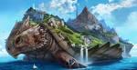 Ryujin - The Ever Moving Land by DeanOyebo