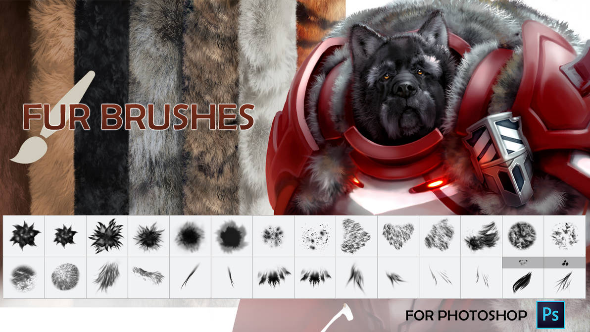 Fur Brush Pack Cover
