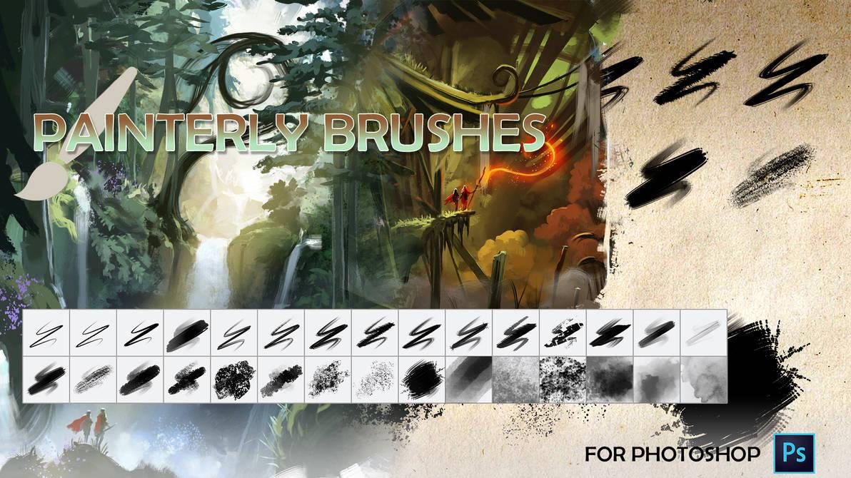Painterly Brush Pack Cover