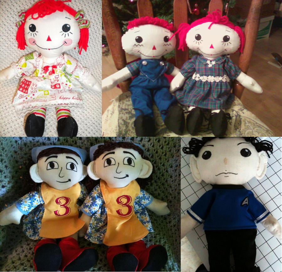 Rag Dolls by desederas
