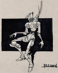 Maintenance-robot2 by gotcharabbit