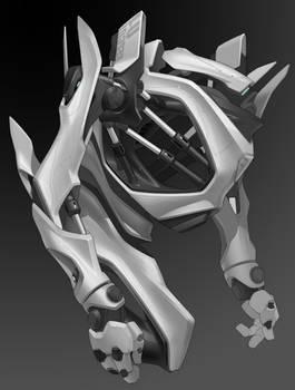 Mecha torso concept