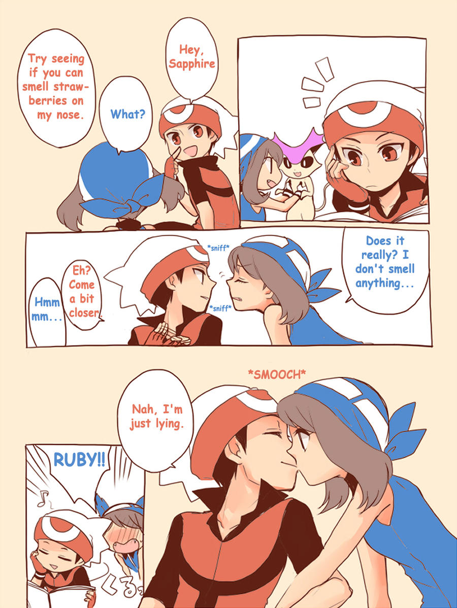 Galería de shippings ♫ Pokemon_trainer_ruby_x_sapphire_by_theboar-d4nrqaw