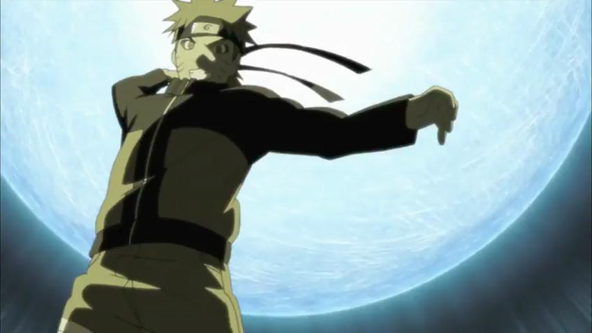Naruto learn giant rasengan