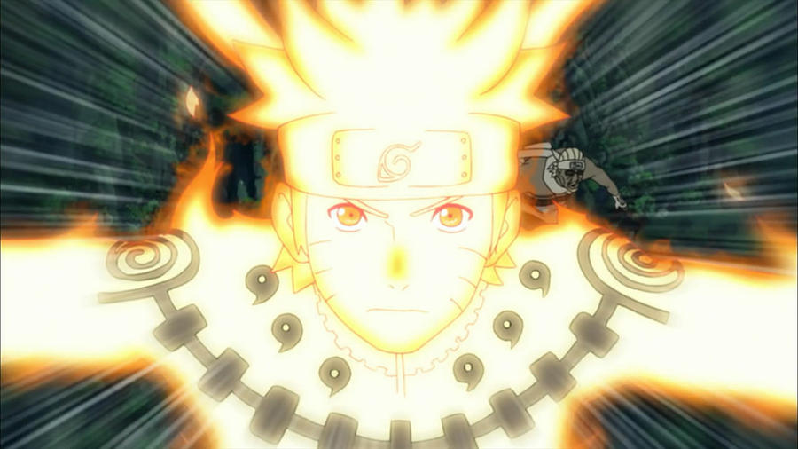 Naruto in Jinchuriki form by TheBoar on DeviantArt