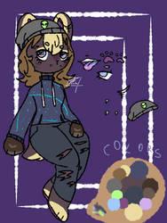 Punk bear adopt [Closed] by ruuowo