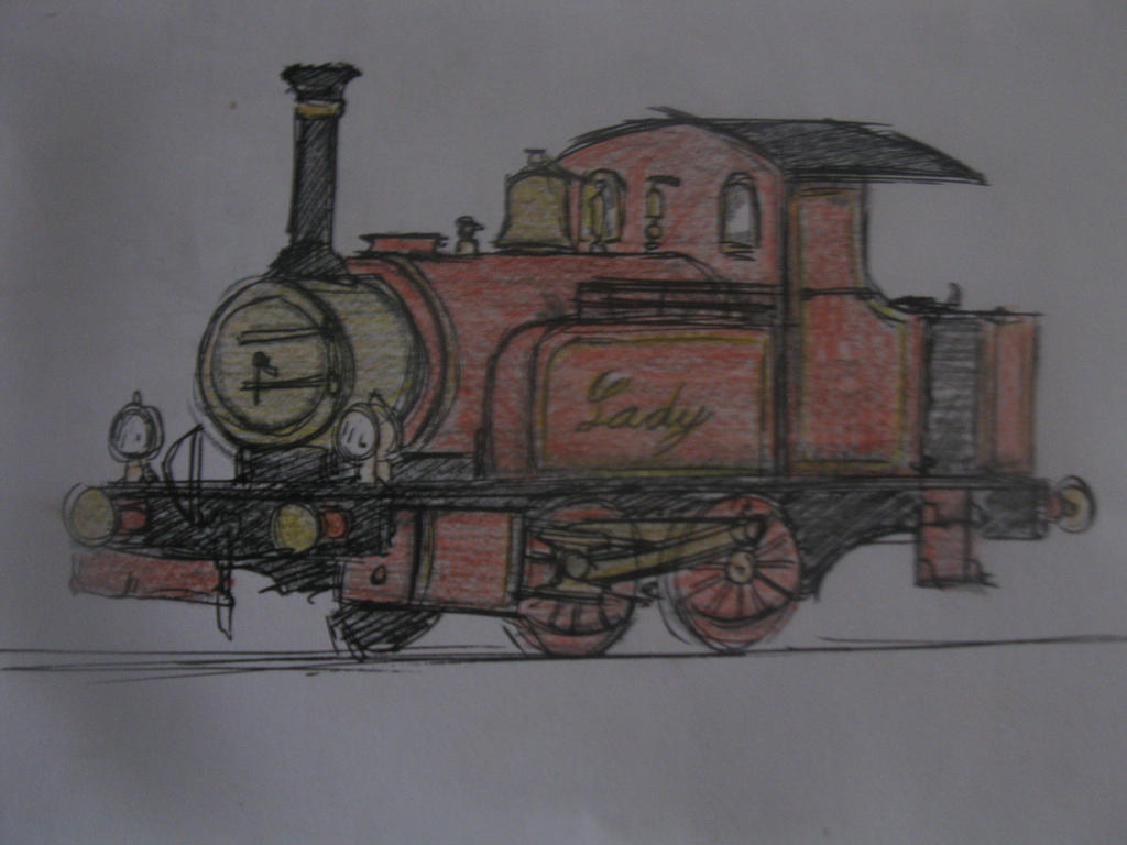 Lady the Magical engine by TheguyfromNorramby on DeviantArt