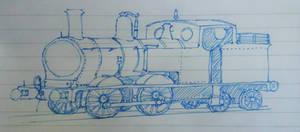 The Little Blue Tank Engine / NWR 1206