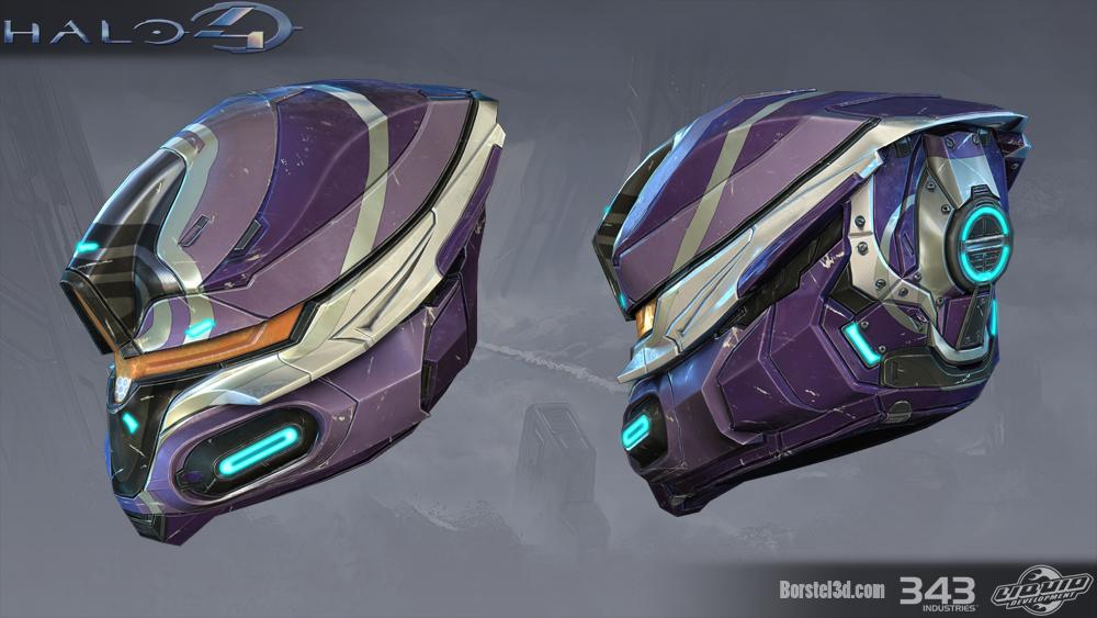 Pubg Mobile Helmet Wallpaper Pubg Pubgwallpapers: Halo 4: Deadeye Helmet By Profchaos354 On DeviantArt