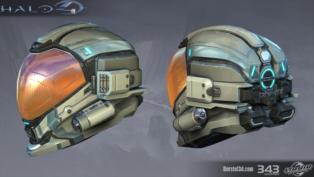 Pubg Mobile Helmet Wallpaper Pubg Pubgwallpapers: Halo 4: Strider Helmet By Profchaos354 On DeviantArt