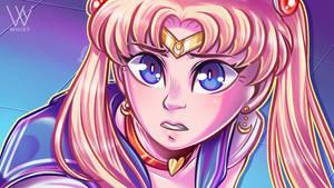 My Sailor Moon Redraw