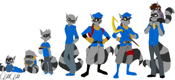 Sly Cooper/timeline by BoringRaccoon