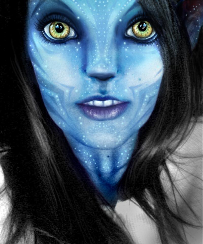 Navi Avatar: My Na'Vi Avatar By Margo98 On DeviantArt