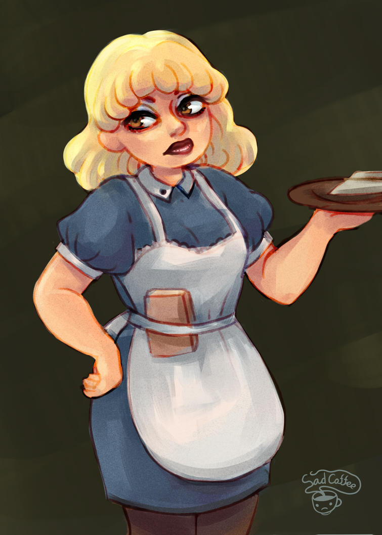 bad waitress by Lemna