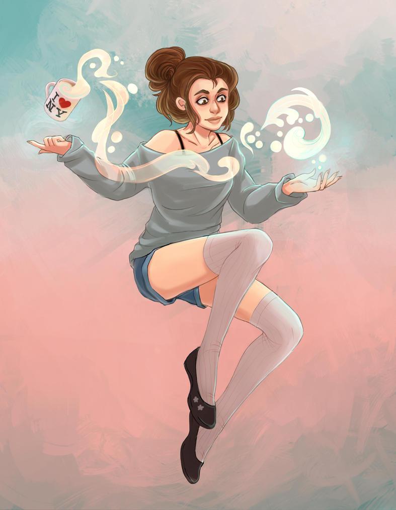 Vanilla sorceress by Lemna