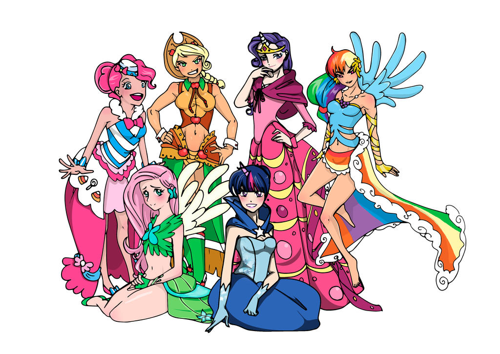 My little pony human version - photo#12