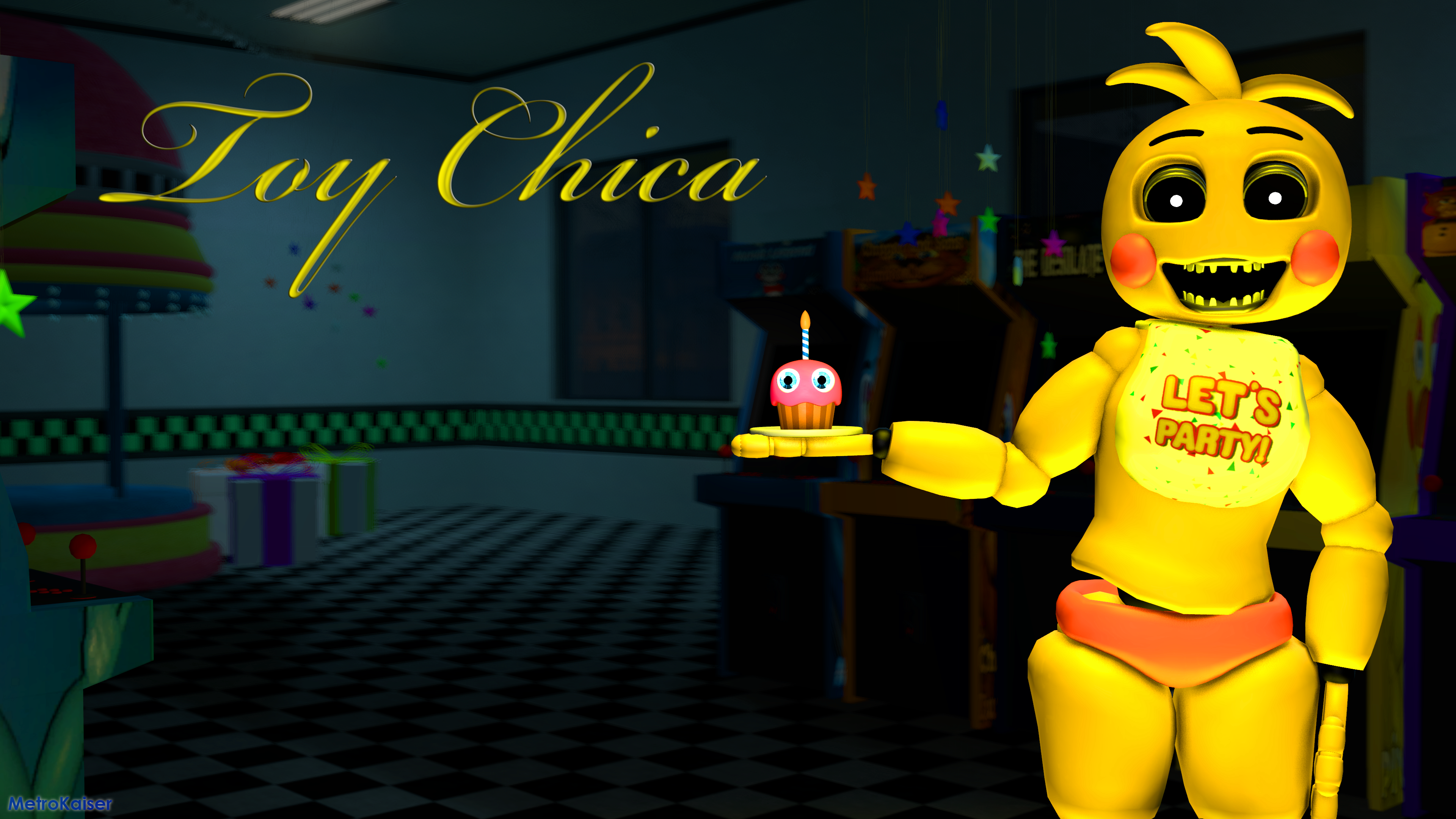 art toy chica wallpaper - photo #11