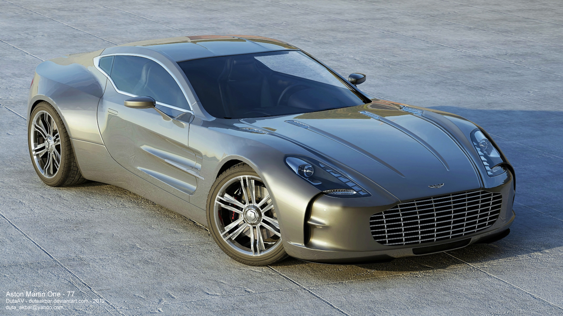 Aston Martin One 77 By Dutaav On Deviantart