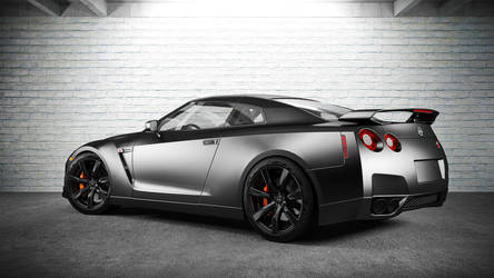 Nissan GTR by DutaAV
