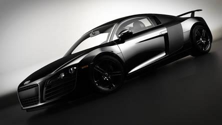 Audi R8 Black by DutaAV