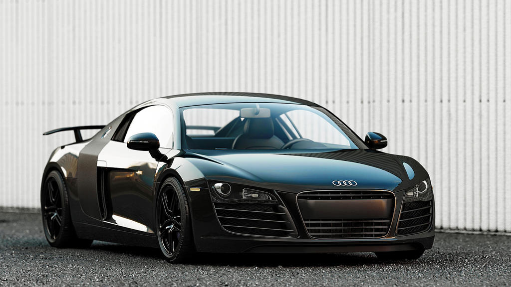 Audi R Black By DutaAV On DeviantArt - Audi r8 black