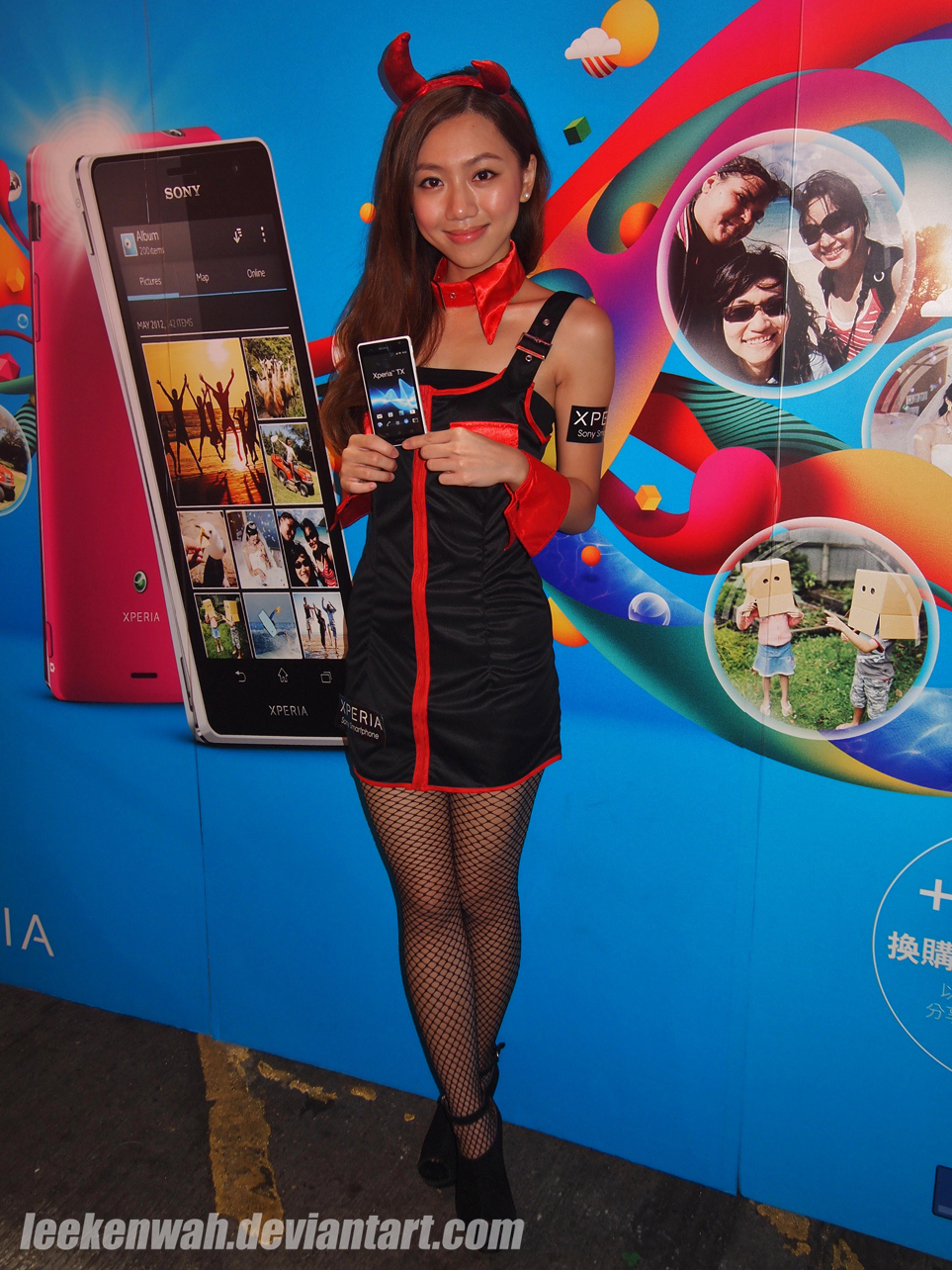 HK Sony Xperia TX Roadshow - 25 by leekenwah