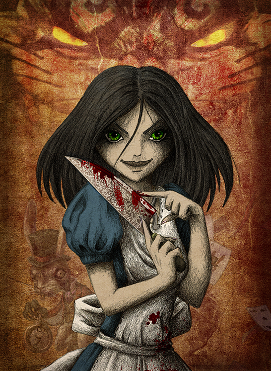 Alice Liddell by Mokhan