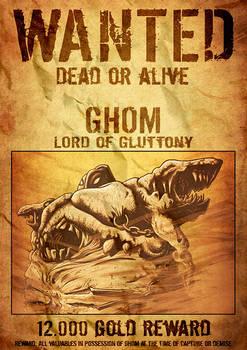 WANTED - Ghom
