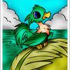 . neopets - bird thing . by MeganAoyama