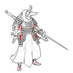 Snakeblood Knightess