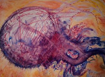 Interdimensional Squid Creature by PtarmiganMan
