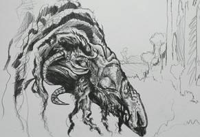 Strange old dragon