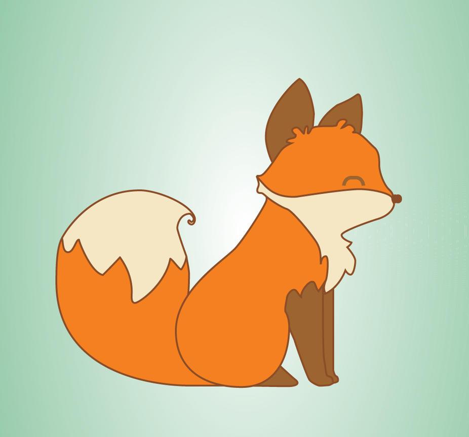 Kawaii Fox by AshleyDawn0527 on DeviantArt