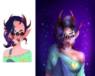 Monster Girl Maker Demoness by KittieTheDemented