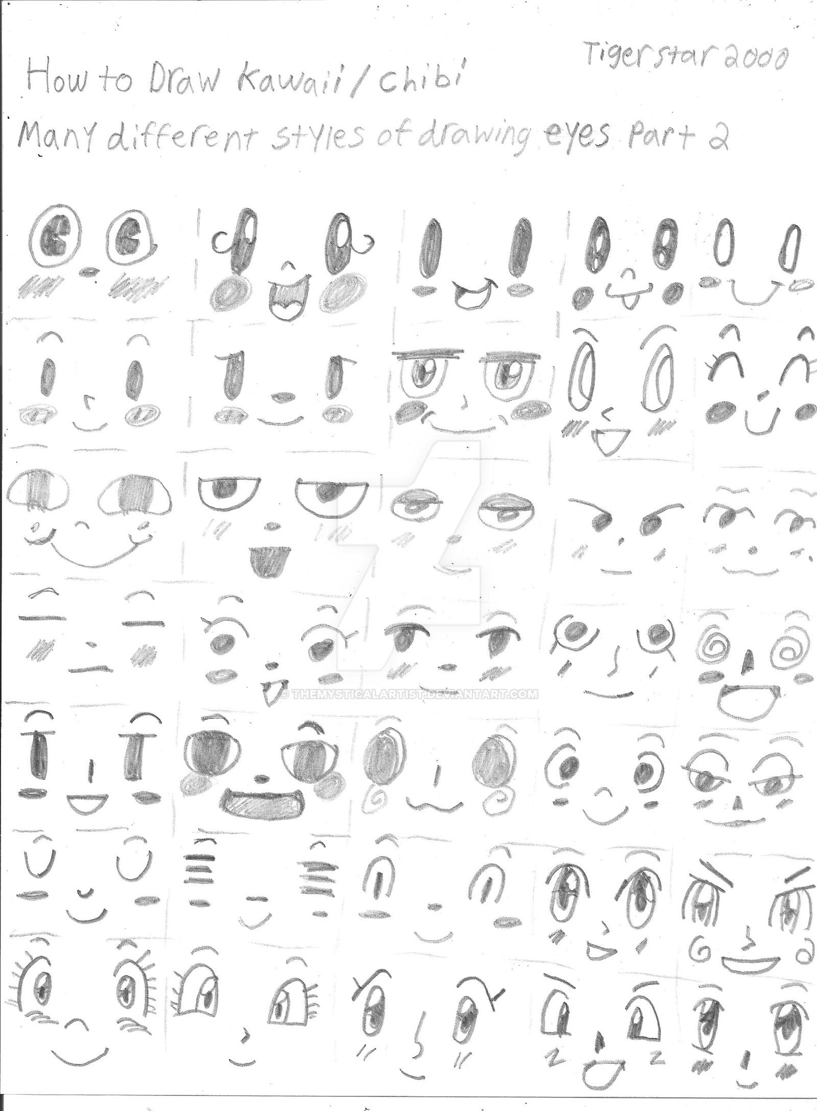 This is a picture of Gratifying Different Types Of Eyes Drawing