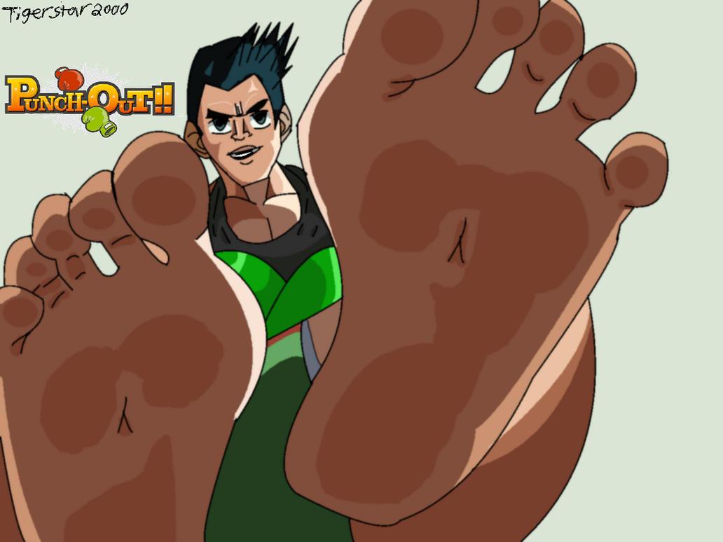 Little Mac Hunk Bare Feet by Tigerstar2000